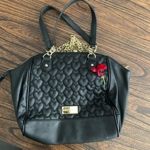 Betsey Johnson Heart Bag